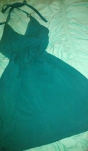 Victoria's Secret Turquoise Halter Sundress